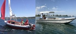 Segel- und Motorbootcharter